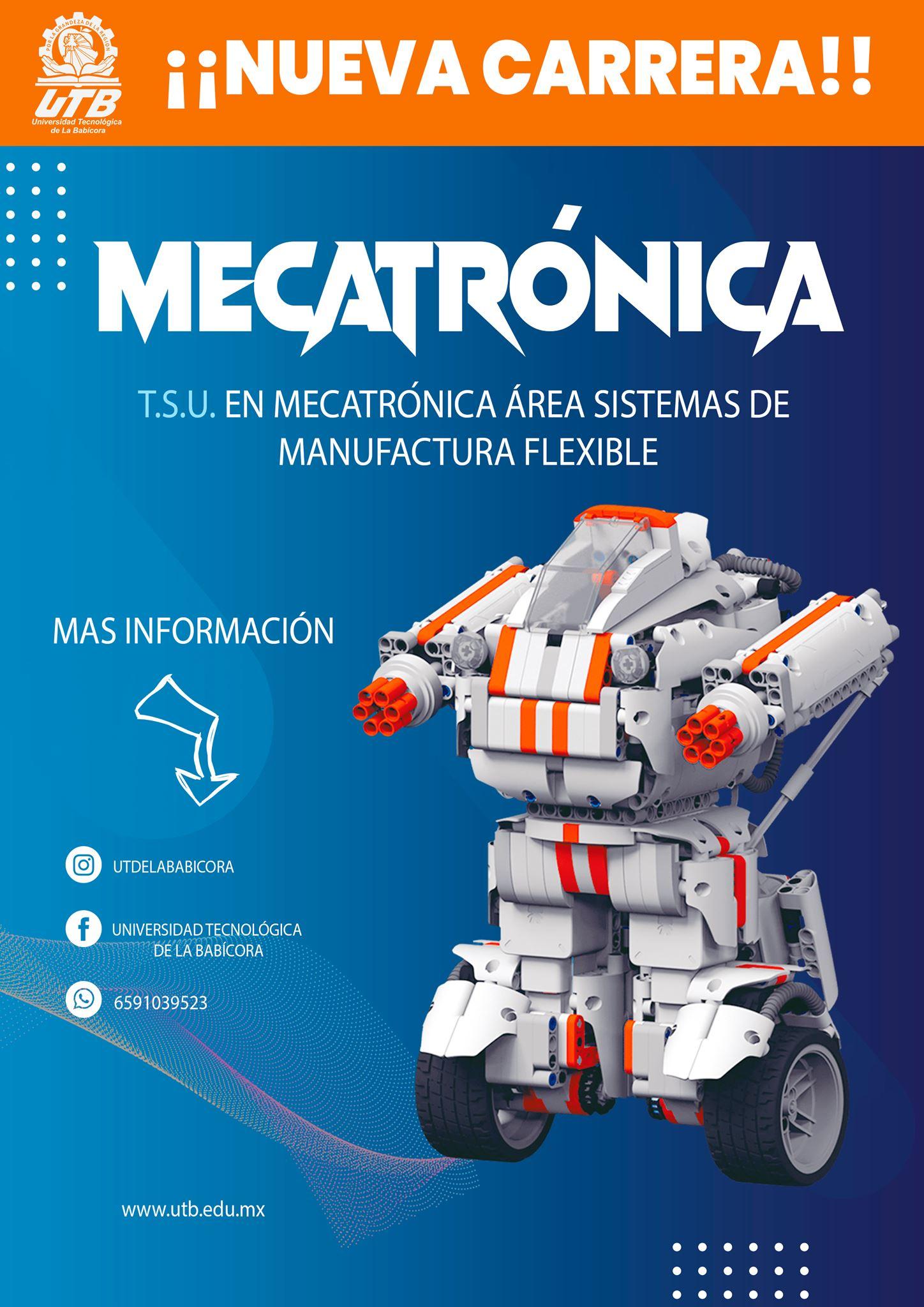 carrera mecatronica